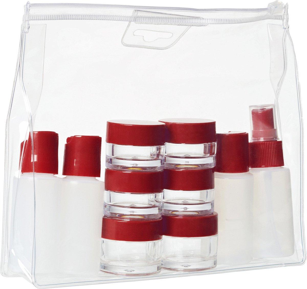 Kosmetyczka podróżna kabinowa z pojemnikami Wenger