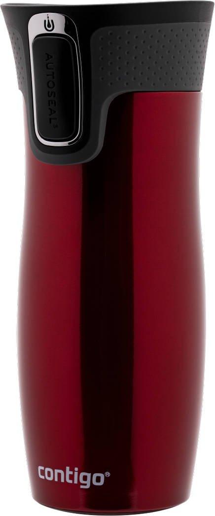 Kubek termiczny Contigo West Loop 2.0 470 ml czerwony