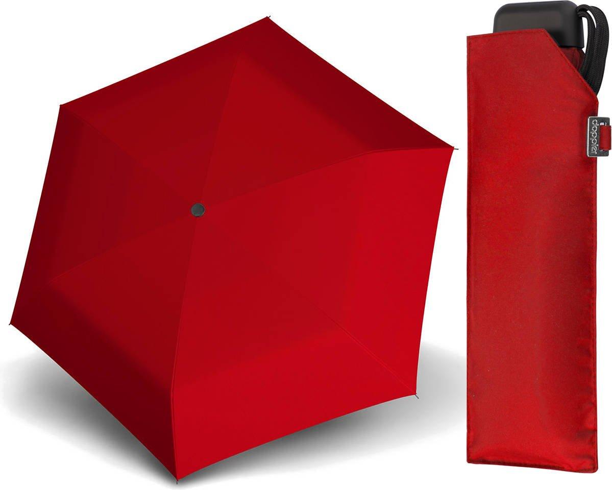 Parasol Carbonsteel Mini Slim Doppler czerwony