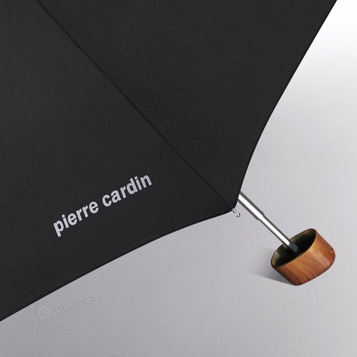 Parasol kieszonkowy Mybrella Carbon Pierre Cardin Noire brązowy