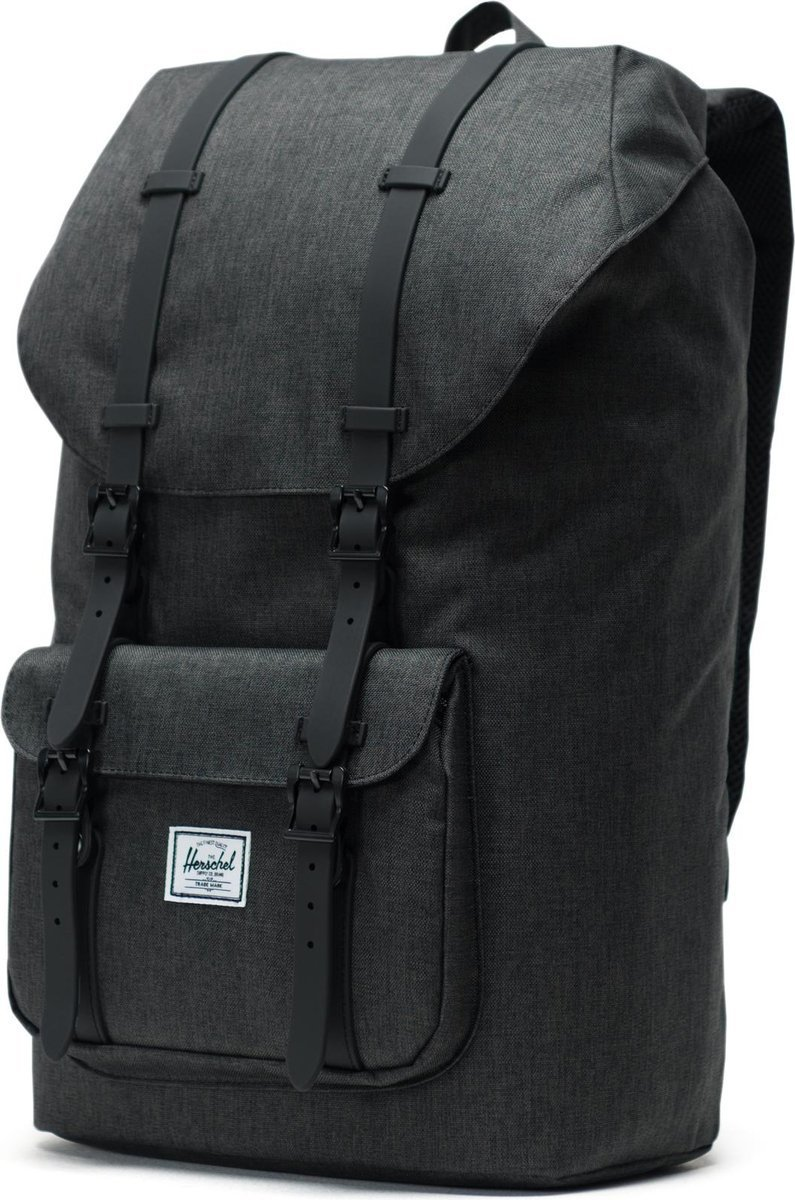 Plecak Herschel Little America 25L Black Crosshatch