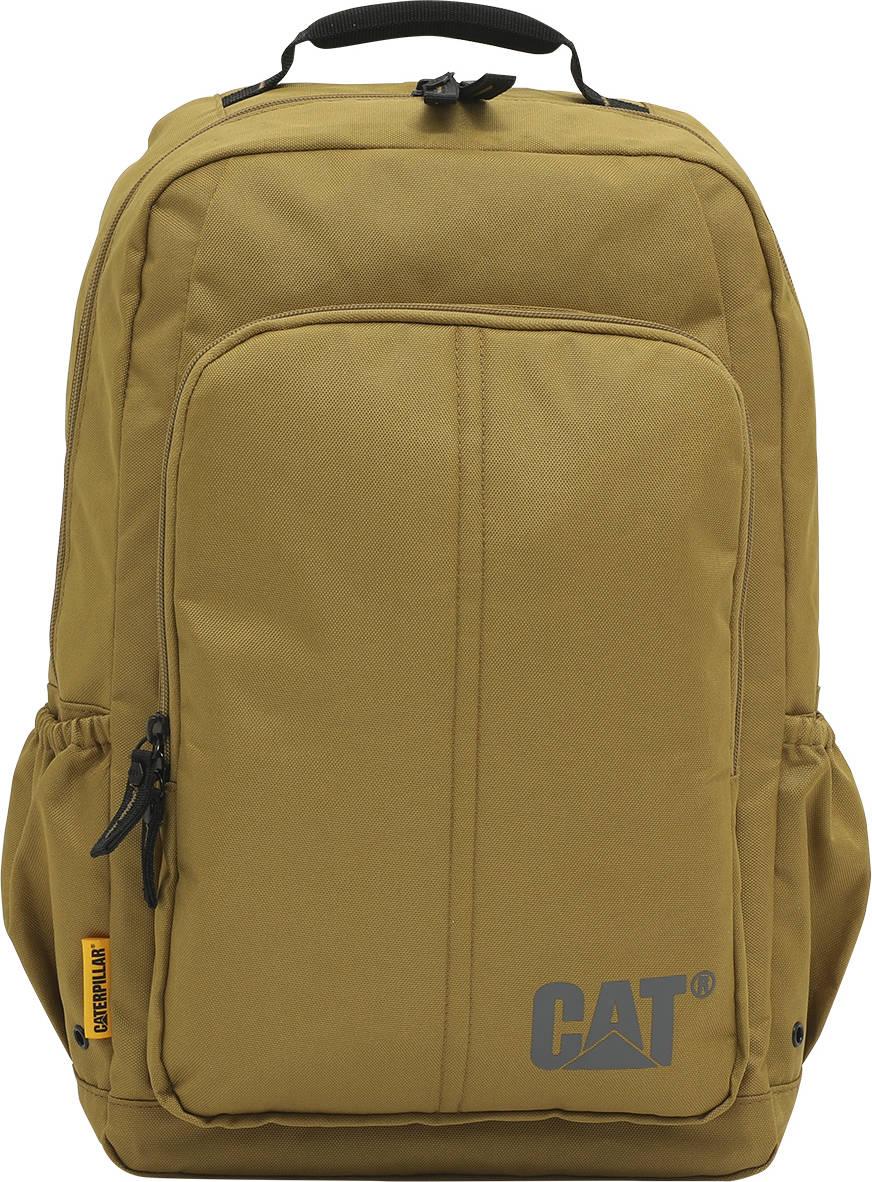 "Plecak Innovado na laptopa do 15,6"" CAT Caterpillar musztardowy"