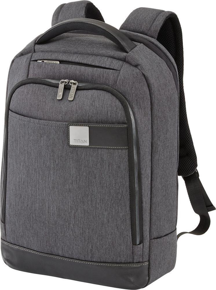 "Plecak na laptopa do 15,6"" Titan Power Pack Slim antracytowy"
