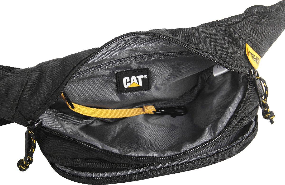 Saszetka biodrowa CAT Caterpillar Lava czarna