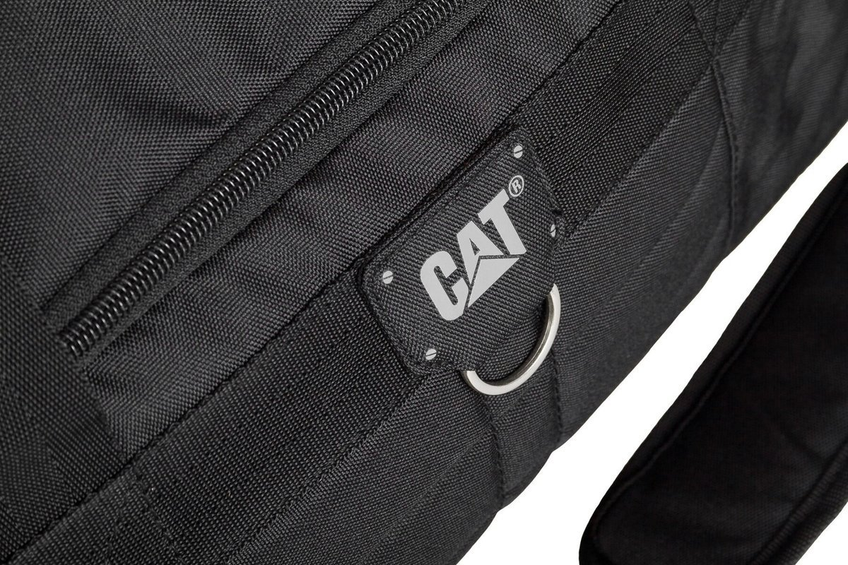 Torba Duffel S CAT Caterpillar czarna