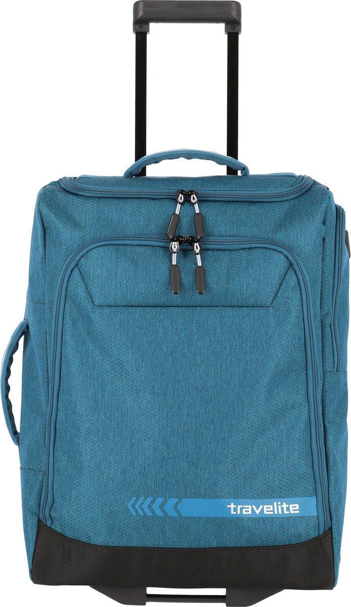 Torba podróżna na kółkach S Travelite Kick Off niebieska