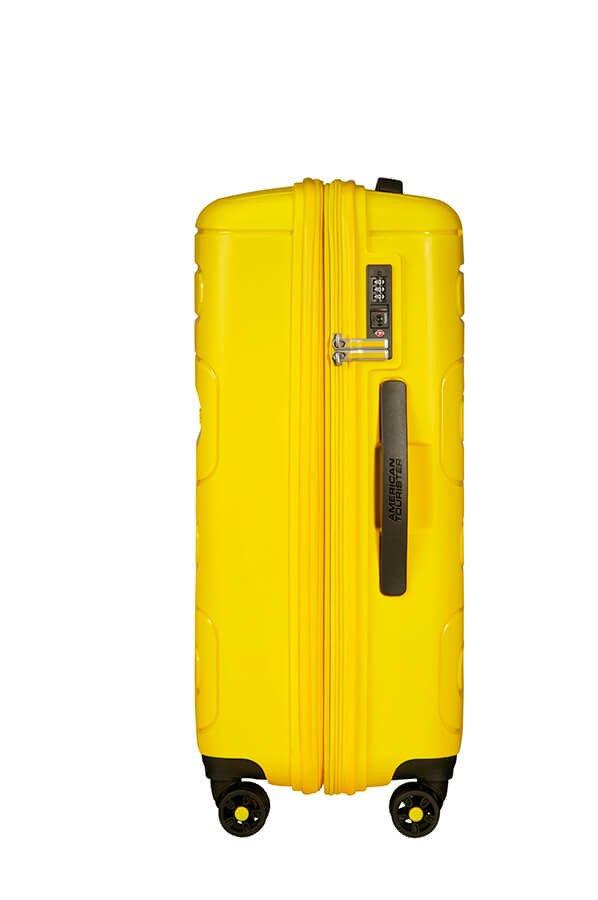 Walizka American Tourister Sunside 68 cm powiększana żółta