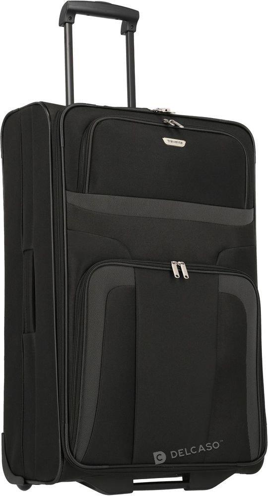 Walizka duża 2-kółkowa Travelite Orlando 73 cm czarna