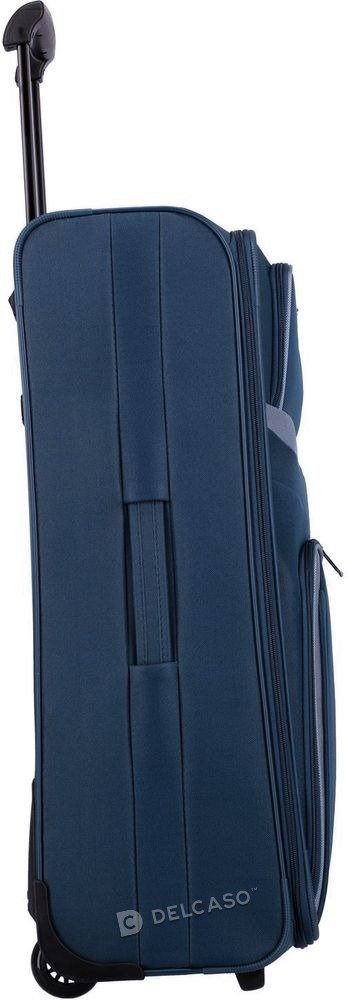 Walizka duża 2-kółkowa Travelite Orlando 73 cm niebieska