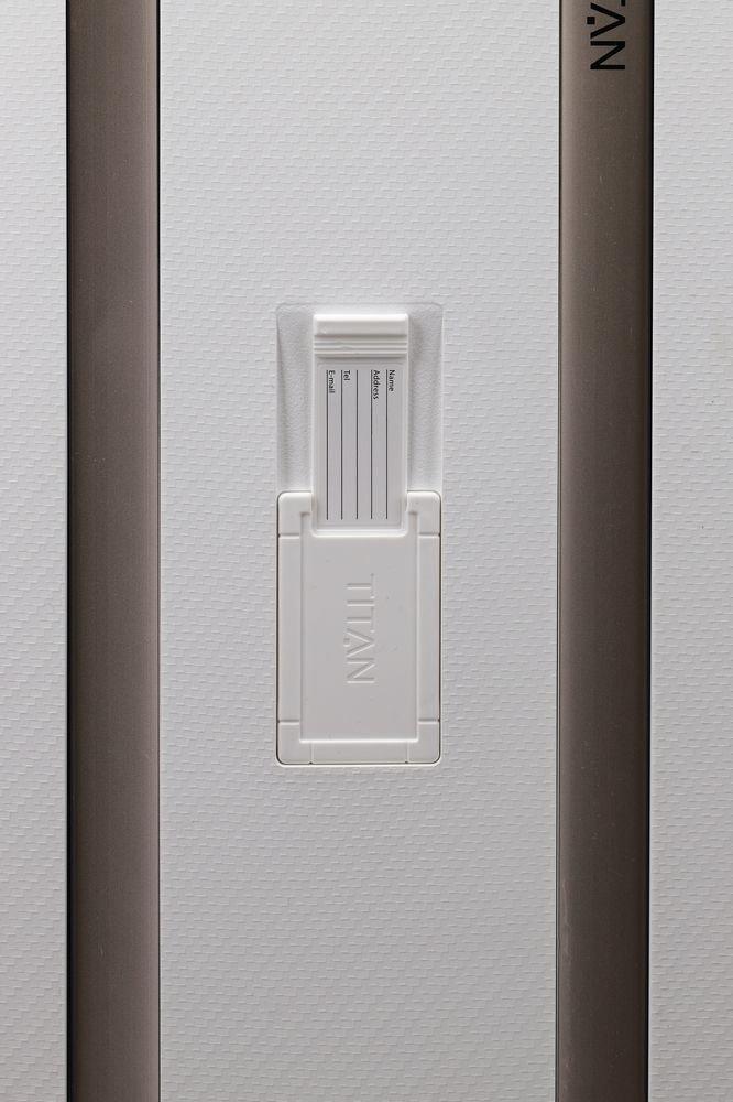 Walizka duża Titan Compax 74 cm biała