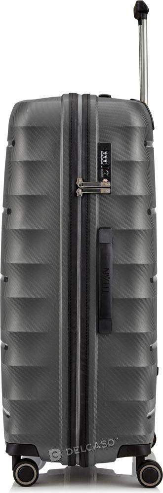 Walizka duża Titan Highlight 76 cm antracytowa