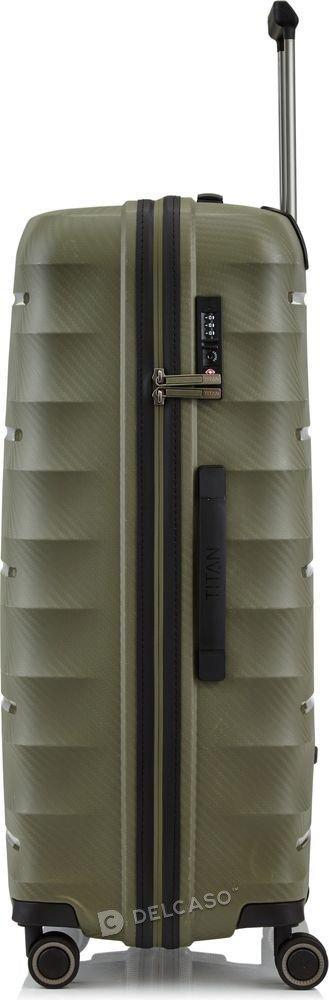 Walizka duża Titan Highlight 76 cm khaki