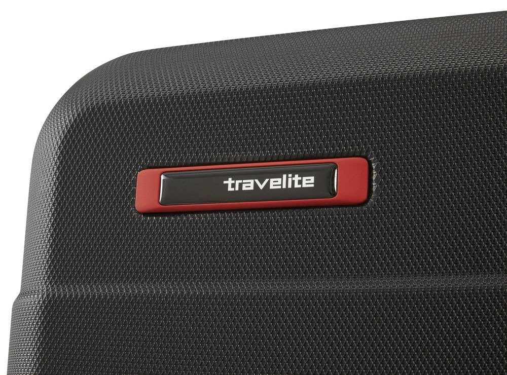 Walizka duża Travelite Vector 77 cm czarna