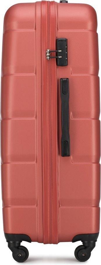 Walizka duża Wittchen Arrow Line 77 cm czerwona