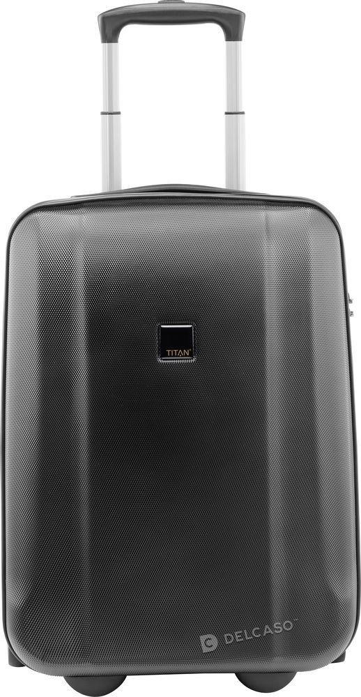 Walizka kabinowa 2K Titan Xenon 53 cm mała czarna