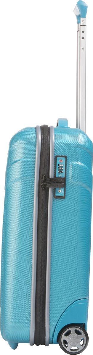 Walizka kabinowa 2K Travelite Vector 55 cm mała turkusowa