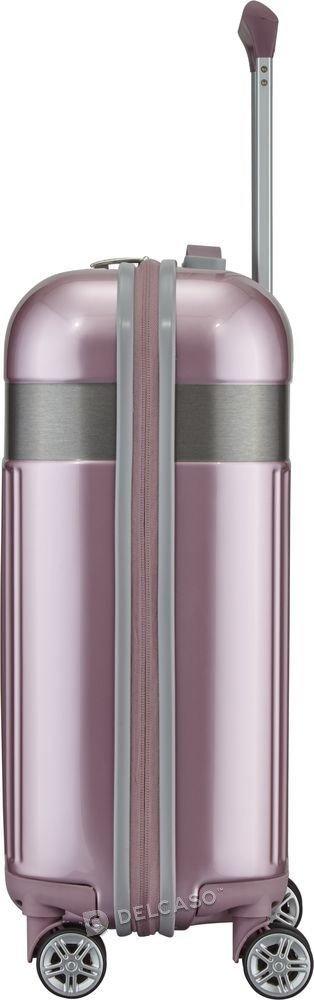 Walizka kabinowa Spotlight Flash 55 cm mała różowa