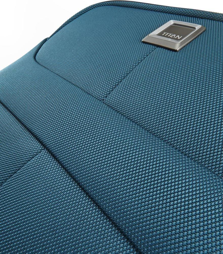 Walizka kabinowa Titan Nonstop 55 cm mała niebieska