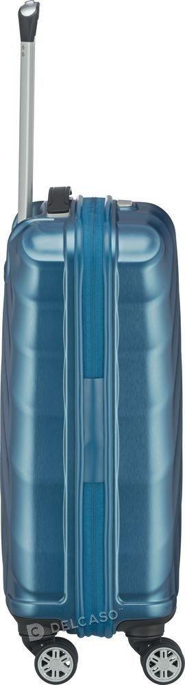 Walizka kabinowa Titan Shooting Star 55 cm mała niebieska