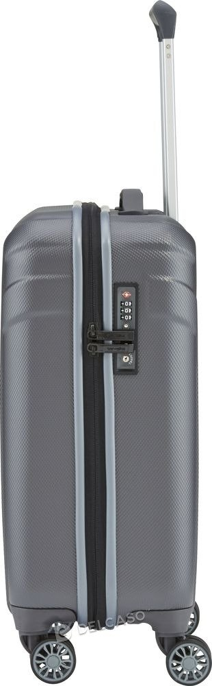 Walizka kabinowa Travelite Vector 55 cm mała antracytowa