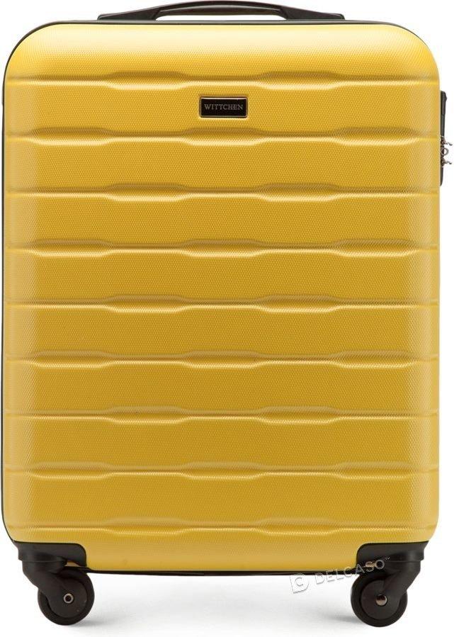 Walizka kabinowa Wittchen A-Line I 55 cm mała żółta