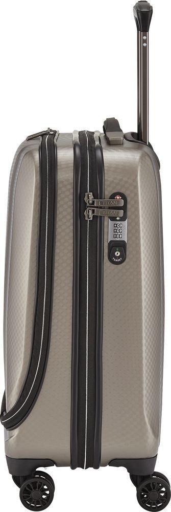 Walizka kabinowa - biznesowa Titan Xenon Deluxe 55 cm mała szampańska