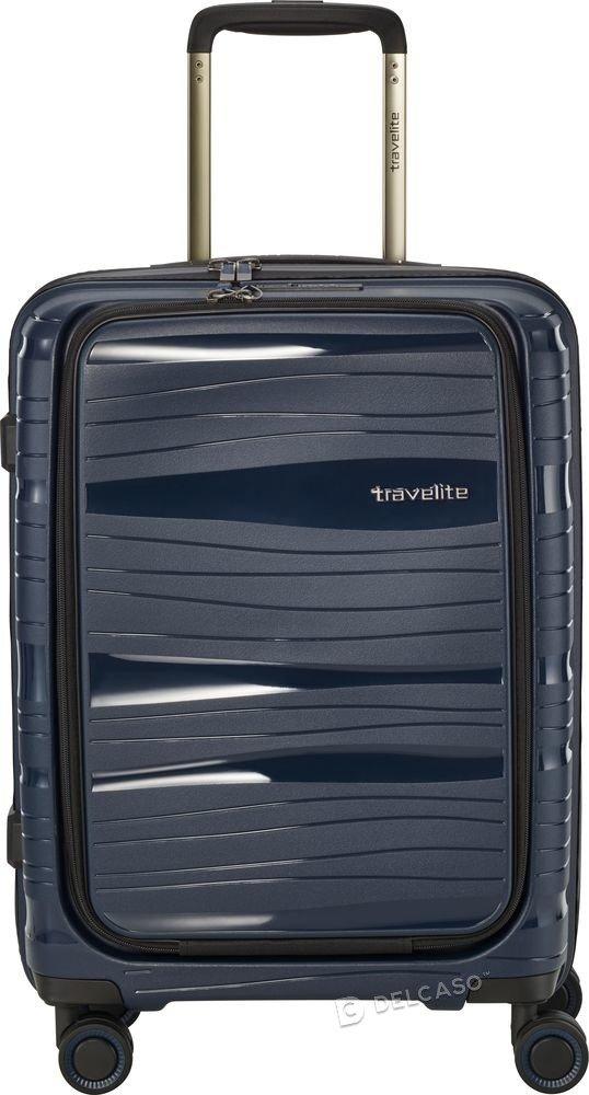 Walizka kabinowa - biznesowa Travelite Motion 55 cm mała niebieska