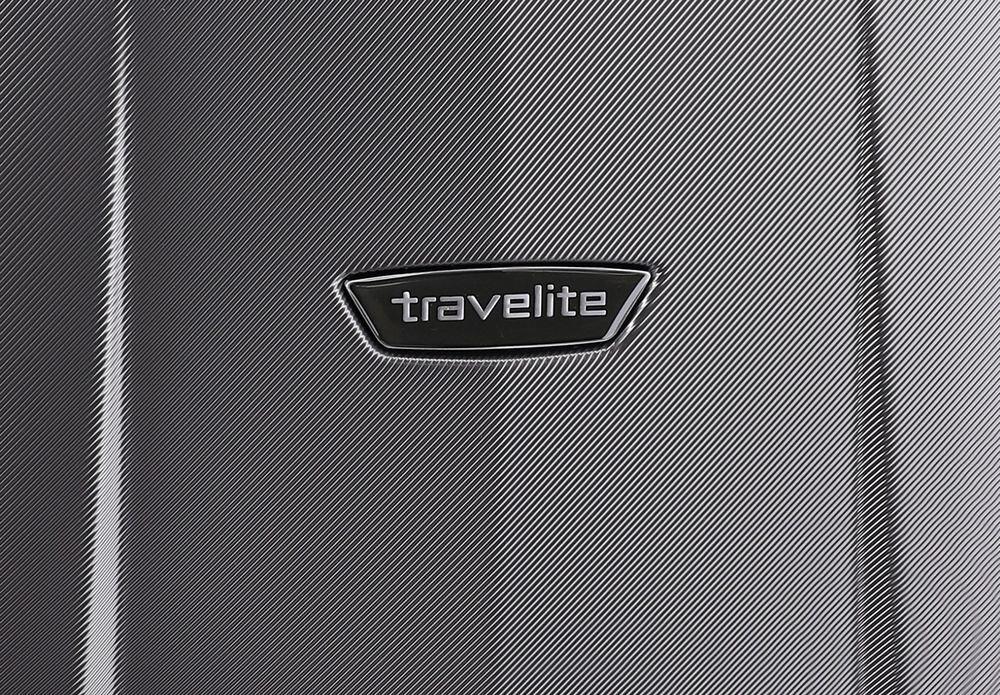 Walizka średnia Travelite Elbe 66 cm antracytowa