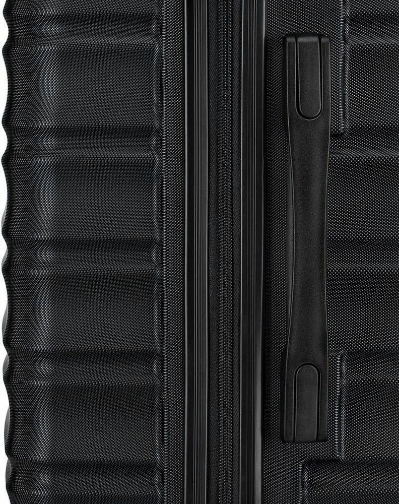 Walizka średnia Wittchen GROOVE Line 67 cm czarna