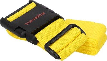 Pas do walizki Travelite żółty