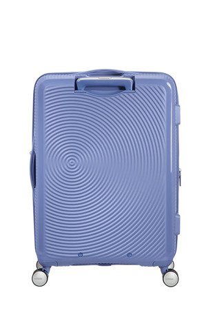 Walizka American Tourister Soundbox 67 cm powiększana niebieska