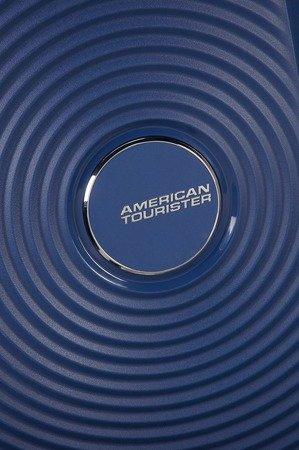 Walizka American Tourister Soundbox 77 cm powiększana granatowa