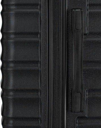 Walizka duża Wittchen GROOVE Line 77 cm czarna