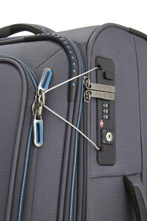 Walizka kabinowa 2-kółkowa Travelite CrossLite 55 cm mała czarna