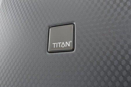 Walizka średnia Titan Xenon Deluxe 67 cm grafitowa